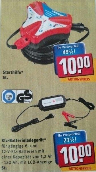 Kfz-Batterieladegerät 6-12V [REWE Bundesweit] Vergleichgeräte ~17€