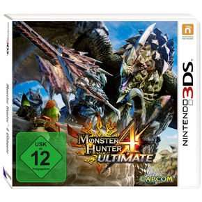 Monster Hunter 4 Ultimate 3DS für 20,98€ @notebooksbilliger.de