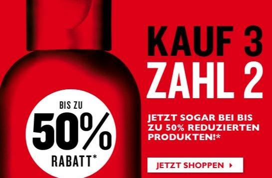 The Body Shop: 3 für 2 auf reduzierte Artikel, KEINE Versandkosten, KEIN Mindestbestellwert
