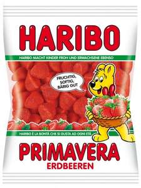 [MAGOWSKY] Nur noch heute: Haribo Primavera Erdbeeren (100 g) für 0,29 € (Angebot)