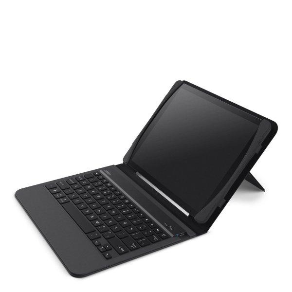 Belkin Slim Style Tastatur-Case für iPad Air in schwarz für 14,99€ (Prime) // AZERTY