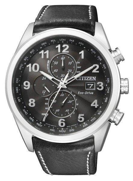 Citizen Herren-Armbanduhr XL Analog Quarz Leder AT8011-04E für 250.98 € @ Amazon