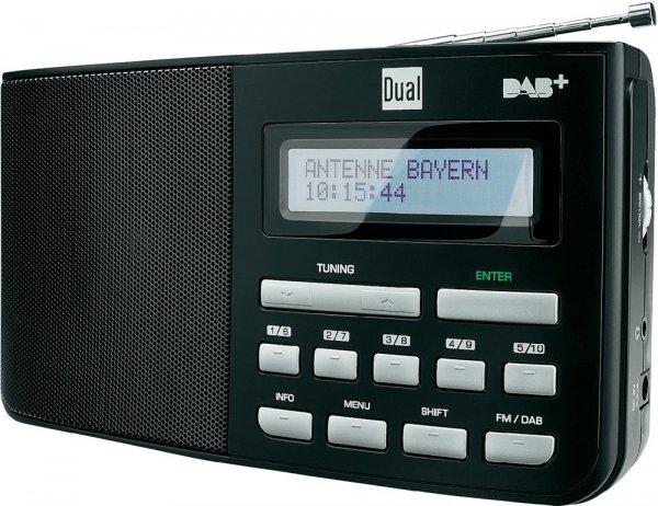 Dual DAB+ Radio DAB 5.1 Kofferradio Schwarz für 39,99 € inkl. VSK bei digitalo.de