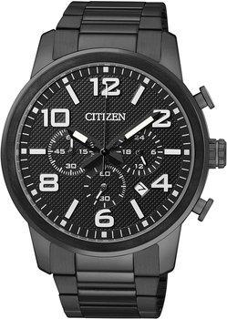 Citizen Herren Chronograph XL Schwarz AN8055-57E für 101,98 €