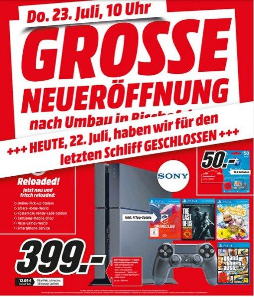 [Media Markt lokal Bischofsheim] PS4 + Driveclub, Last of Us, Little Big Planet 3 und GTA V