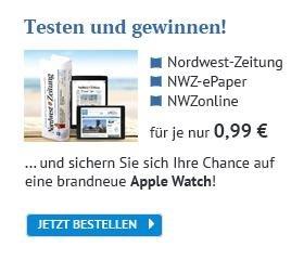 [Lokal] Nordwest-Zeitung, NWZonline oder NWZ ePaper für 0,99 € + Apple Watch Gewinnspiel