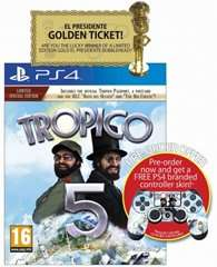 [365games] Tropico 5 - Limited Edition inkl. Controller Skin PS4 für 36,54€