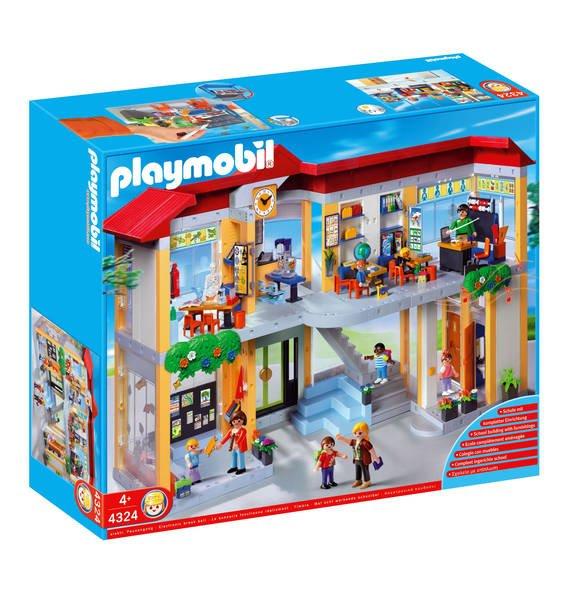 Playmobil Große Schule mit Einrichtung 4324 Kinderspielzeug, 89,99 EUR @ galeria-kaufhof