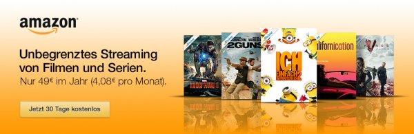 Amazon Prime Neukunden erhalten 5 € für den Amazon Instant Video Shop