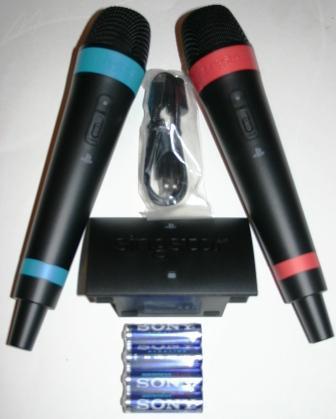 2 x PS3 Wireless Singstar Mikrofon auch für PC -> Ultrastar geeignet - bei Voelkner