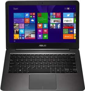 Asus Zenbook UX305FA-FC005H 33,7 cm (13,3 Zoll IPS FHD) Notebook (Intel Core-m 5Y10, 2GHz, 8GB RAM, 256GB SSD, Intel HD, Win 8.1) schwarz Amazon Blitzangebot