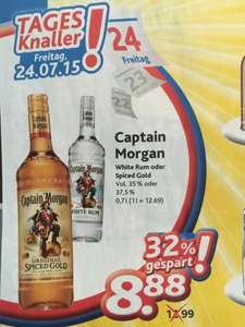 [Dursty] Captain Morgan Spiced Rum oder White Rum 8.88€