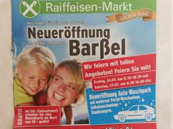 GRATIS Waschkarte ab 50€! Leider nur Lokal (26676 Barßel)