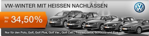 bis 34 % Rabatt auf Skoda, VW & Chevrolet Neuwagen bei Carneoo Sonderaktion
