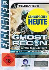 Ghost Recon Future Soldier Signature Edition PC bei Gameware.at für € 2,90 + € 2,99 VK