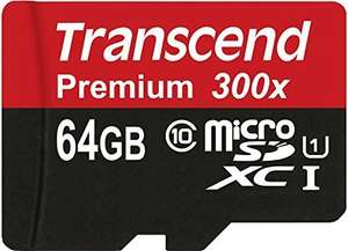 MicroSDXC 64GB Transcend