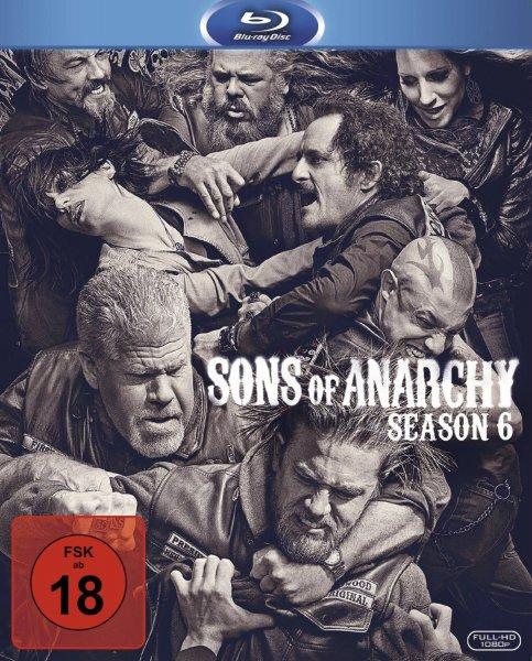 buecher.de - Sons of Anarchy - Season 6 / Preis: 28,99 € (durch 5,00 € Gutschein) / Vergleichspreis: 34,95 €