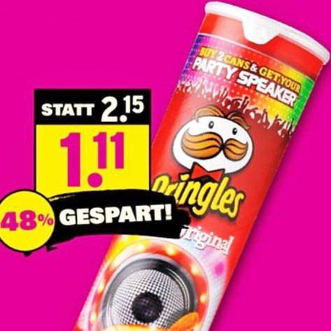 Pringles verschiedene Sorten für 1,11€ am Samstag den 1.8 @ Netto mit Scottie