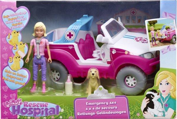 @Amazon Prime / Buchtrick: Vivid 60139.4300 - Animagic Rescue Hospital - Rettungs-Geländewagen für 9,99 € / Idealo ab 20 Euro