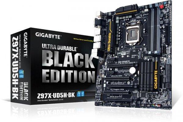 Gigabyte GA-Z97X-UD5H-BK Black Edition - 5 Jahre Garantie, Upgrade-Option (nächste Generation im Tausch kostenlos) - 151,89€ @ getgoods.de