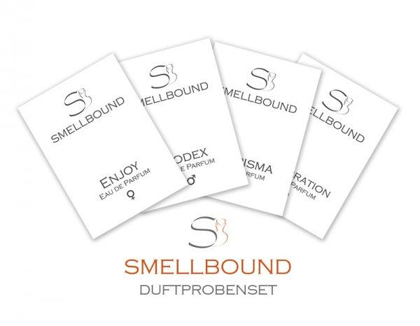 Duftprobenset 12-teilig gratis & versandkostenfrei @Smellbound