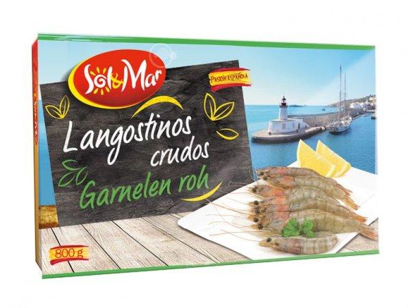[LIDL] Langostinos Garnelen gekocht oder Roh 800g für 8,99 (~11,23 das kg) eventl. Lokal?