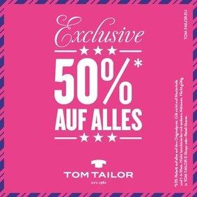 """[Lokal] Hamburg/Oststeinbek Tom Tailor """"Sommerschlussverkauf"""" im Outletstore => 50% Sale"""