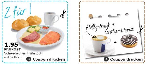 [Ikea Düsseldorf] ! STUDIS ! Coupon FRUKOST + Gratis Donut + 10% Gutscheinkarte ab 150€