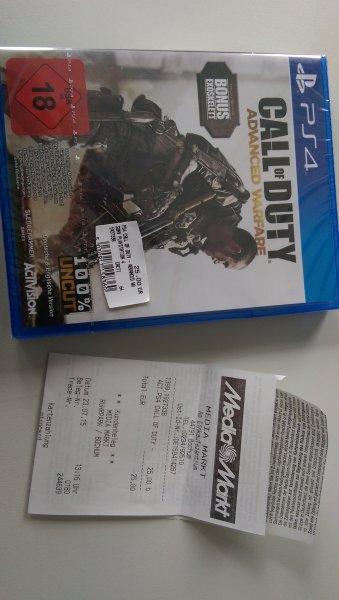LOKAL BOCHUM: Call of Duty Advanced Warefare Special Edition (PS4) UNCUT
