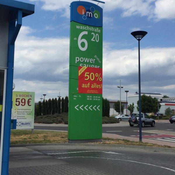[LOKAL Schwetzingen] IMO Car Wash 50% auf alles + kostenloses Staubsaugen