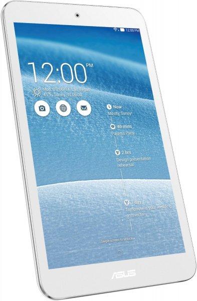 [amazon.de] Asus ME181CX ProSieben Entertainment Pad 20,3 cm(8 Zoll) Tablet-PC (Intel Atom Z3745, 1,33 GHz, 1 GB RAM, 16 GB HDD, Intel Gen 7, Android) weiß - Blitzangebot ab 16:00 / Preisvergleich ab 135€