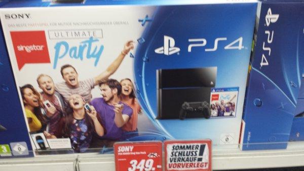 [media markt Jena]Sony PlayStation 4 (PS4) 500GB + SingStar: Ultimate Party für 349 Euro