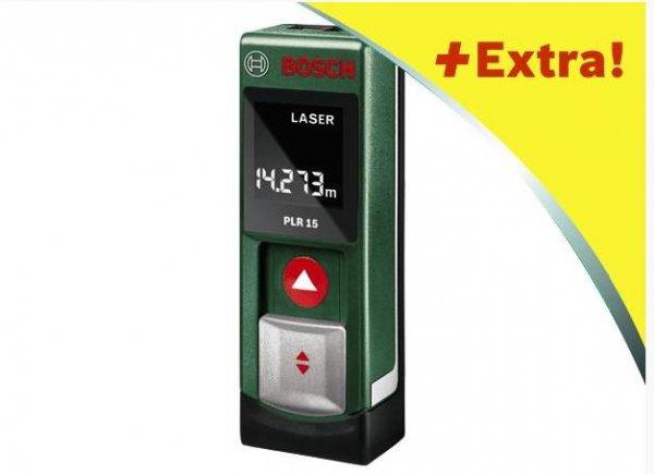 (Bauhaus) Bosch Laserentfernungsmessgerät mit gratis Akkus und Ladegerät(Wert: 29,99) durch Coupon