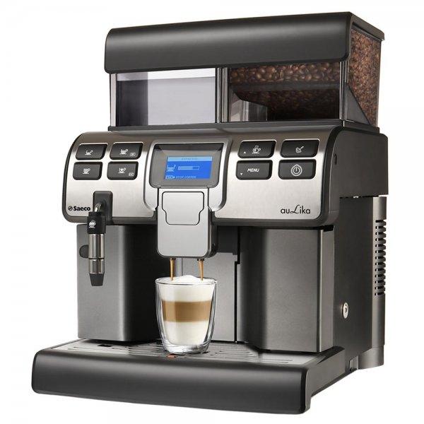 Saeco Aulika Cappuccino schwarz (professionelle Espressomaschine mit Gewerbezulassung) für 946,99 € @ redcoon.de