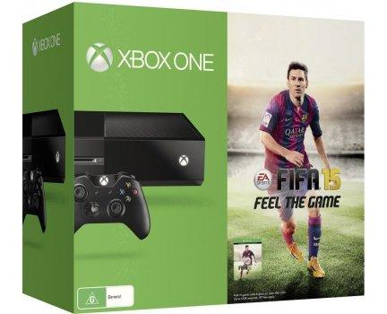 [ZackZack] Microsoft Xbox One Konsole 500 GB Schwarz inkl. FIFA 15 für 289,-€ Versandkostenfrei