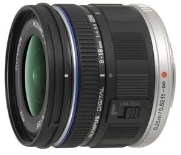 Amazon.fr: Olympus M.Zuiko Digital ED 9-18mm (18% unter idealo) + 150€ Cashback --> effektiv 250 Euro