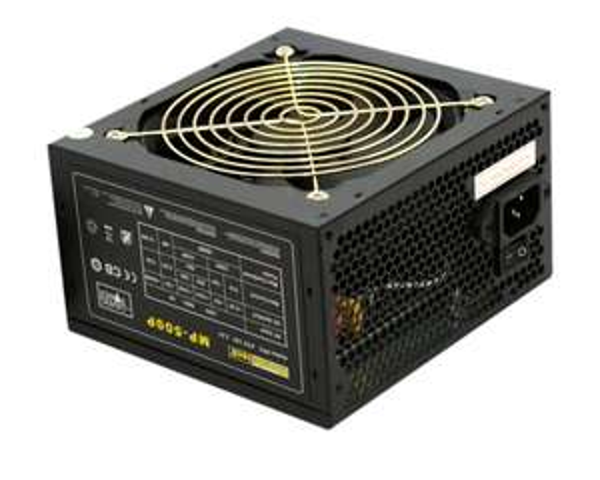 Amazon / RHOMBUTECH® 500 Watt PC-Netzteil ATX | 20+4pin Stromversorgung | Gaming-Netzteil | Saving Power | Effizient bis zu 84% | AKTIV PFC | Ultra Silent !