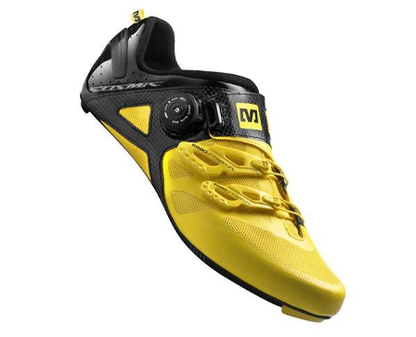 Mavic Cosmic Ultimate Rennradschuhe in Gelb/Schwarz für 165€ @ Canyon