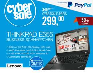 Lenovo Thinkpad Edge E555 AMD A8, 4GB RAM, Windows 8