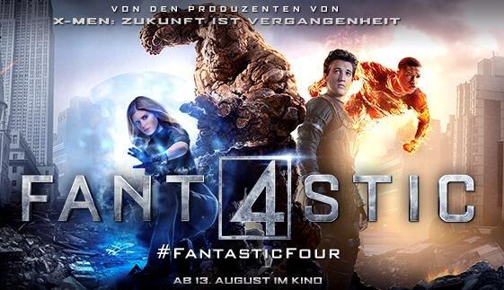 [diverse Orte] Fantastic Four Preview 5.8. von ProSieben