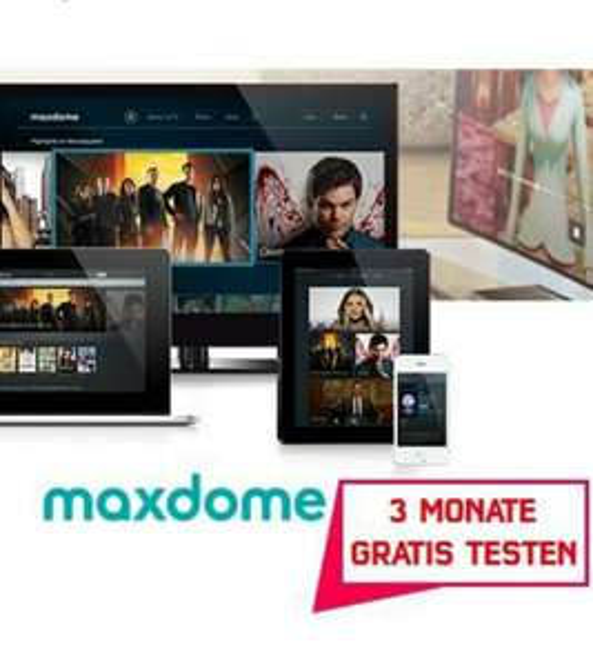 Maxdome 3 Monate kostenlos