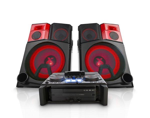 LG CM9950 High-Power-Hifi Anlage mit reichlich Power (Smart DJ mit Drehteller, Power LED Lightning, Bluetooth, RDS, 2xUSB) für 999 € statt 1.299 €, @Saturn