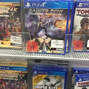 Saints Row IV: Re-elected + Gat Out of Hell PS4 lokal Berlin Alexanderplatz Saturn
