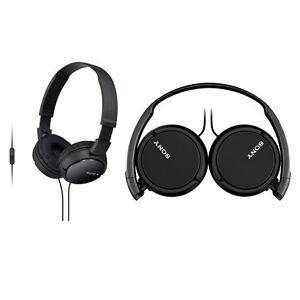 Sony MDR-ZX110AP faltbarer Bügelkopfhörer mit Headsetfunktion als Amazon Blitzdeal 13€