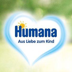 8x Gratis Milchpulverproben von Humana / 1x Gratisprobe Humana piùlatte plus