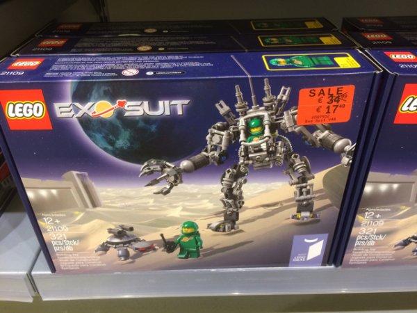 Lego Ideas - Exo-Suit (21109) LOKAL Saarbrücken Lego Store