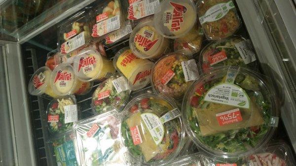 Treysa Tegut:Viele Salate um 75% reduziert
