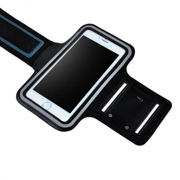 """Elastisches Sport Armband (Leder) für iPhone 6 4.7 """"- Schwarz @allbuy"""