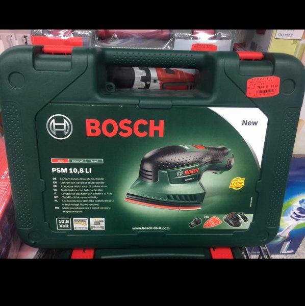 Bosch PSM 10,8 LI Akku Multischleifer für 71,40 Euro beim Selgros in Siegen. PVG 83,99 + 4,99 Versand