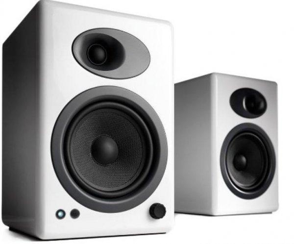 Amazon.de: Audioengine 5+ Aktivlaustprecher weiß für 199 Euro